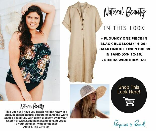 Natural Beauty - An Outfit For Beach and Resort Holidays