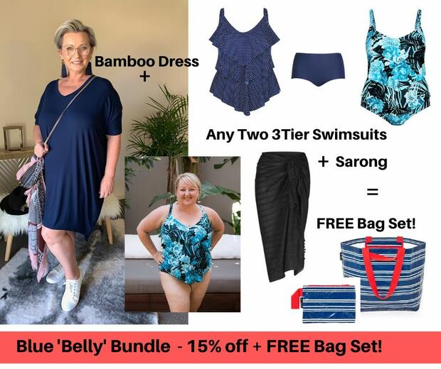 Blue Belly Bundle - Save 15% + FREE $30 Bag Set + FREE Express Post too!