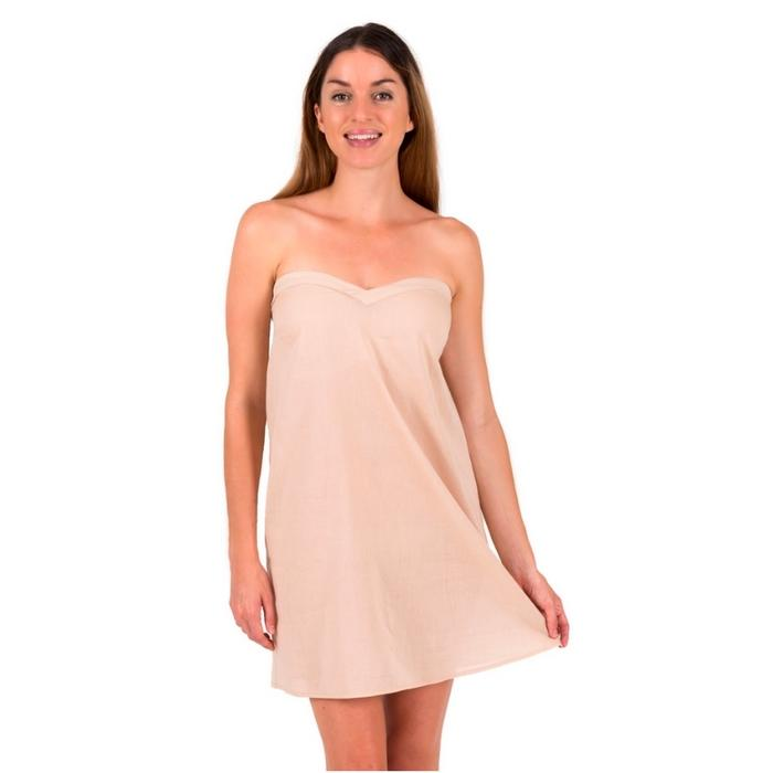 Strapless Slip Dress