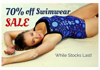70% off Swimwear SALE Now On In Clearance!