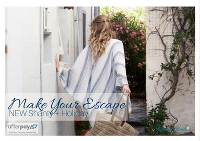 Make your escape with gorgeous NEW resortwear from The Shanty Corporation