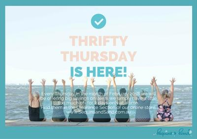 Thrifty Thursday - Starts in February. Find out more here!