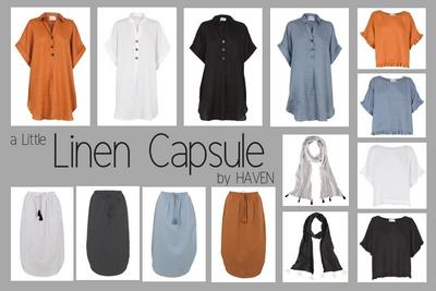 NEW Easy to Mix n Match Linen Shirt Dresses, Tops and Skirts from HAVEN!