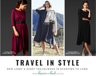 Take the stress out of 'what to pack' | NEW Eb&Ive Light Long Sleeve Dresses are in!