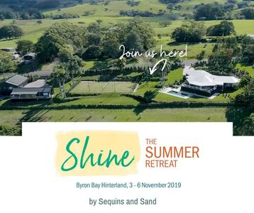 Shine, The Summer Retreat is here! Get ready for your best summer yet!