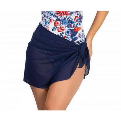 Mesh skirt in navy to wear over your swimsuit on the beach these ...