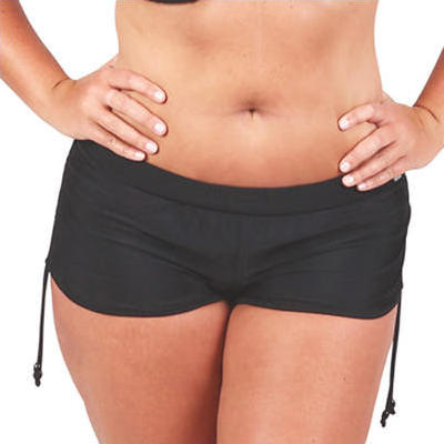 [Capriosca Swimwear Black Swim Short]