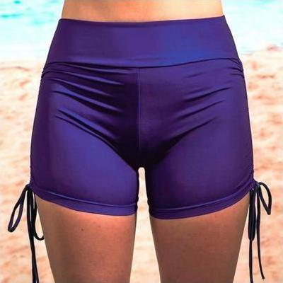 [Boyleg Swim Shorts by Coola Cozzies in Royal Blue]