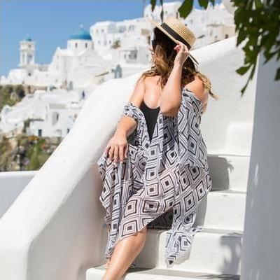 [CAPE CAPRI Havana Swimsuit Coverup Cape]