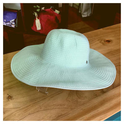 [Kooringal Giselle Wide Brim Hat in Seafoam Green]