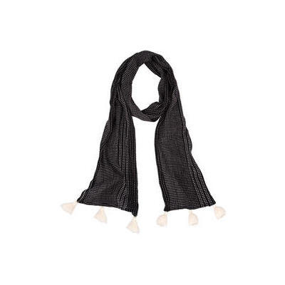 [Bonita Scarf by Isle of Mine - Jet Stripe]