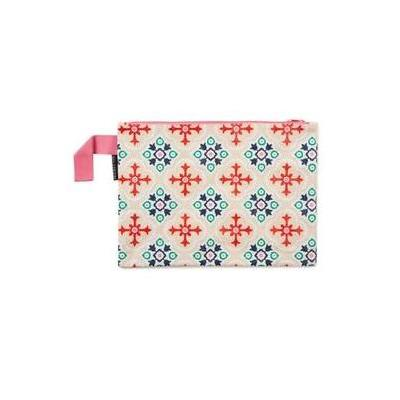 [Project Ten Envelope Wet Cossie Clutch in Geometric Pink]