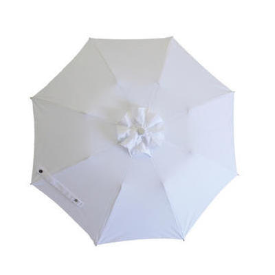[Sunbella Coast Parasol in White]