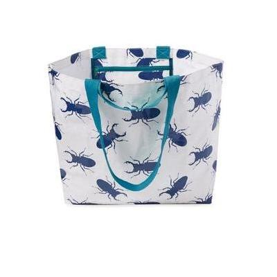 [Project Ten Medium Beach Bag Tote in Bugs]