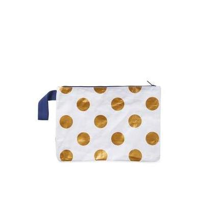 [Project Ten Wet Cossie Clutch Gold Dots]