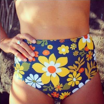 [Beach Bottom in Yellow Flowers]