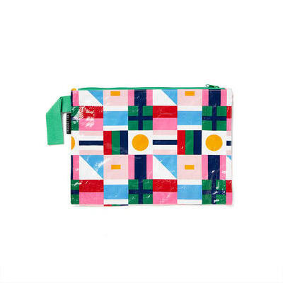 [Project Ten Wet Cozzie Clutch in Flags]
