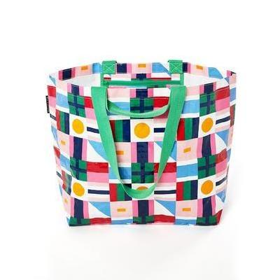 [Project Ten Medium Beach Bag in Flags]