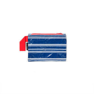 [Project Ten Mini Pouch in Navy Stripe]