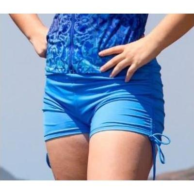 [Boyleg Swim Shorts in Teal Blue by Coola Cozzies]