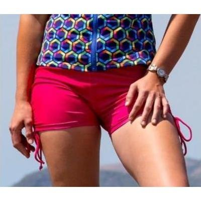 [Boyleg Swim Shorts in Pink by Coola Cozzies]
