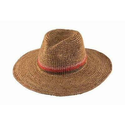 [Kendall Ladies Safari Hat in Tea]