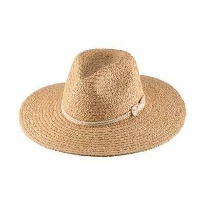 [Sasha Ladies Safari Hat - Natural]