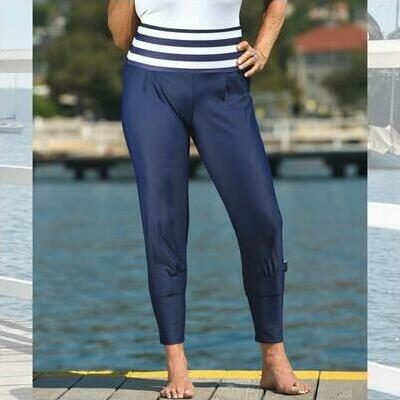 [Sun Safe Nautical Navy Beach Pants]