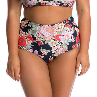 [Peaches and Cream High Waisted Bikini Pant]