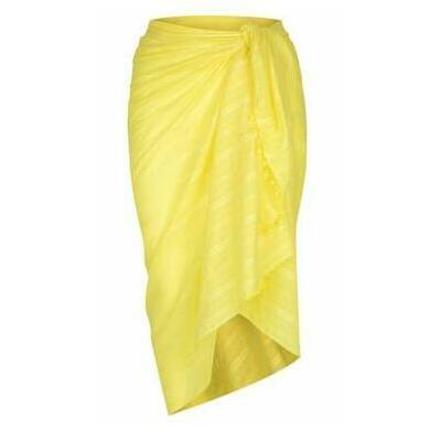 [Large Cotton Sarong in Yellow]