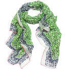 [D|LUX Positano Sarong Large Scarf in Green - $49.90]
