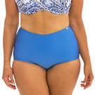 [Capriosca Swimwear Serenity Blue High Waisted Bikini Bottom - $44.00]