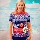 [Coola Cozzies Short Sleeve Rashie in Island Girl - $74.95]