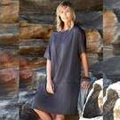 [Isle of Mine Savona Dress in Pewter Grey Includes Plus Size - $79.95]