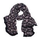[Eb&Ive Sofia Large Scarf in Black Rose - $39.95]