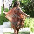 [Safari Mesh Kaftan Beach Dress by Capriosca Swimwear - $149.00]