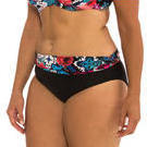 [Capriosca Swimwear Gypsy Rose Rollover Bikini Bottom - $25.00]