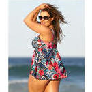 [Capriosca Swimwear Gypsy Rose Swing Tankini Top - $88.00]