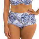 [Capriosca Swimwear Bohemian Luxe High Waisted Bikini Bottom - $55.00]