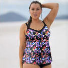 [Capriosca Swimwear Underwire Tankini Top in Hamilton - $79.00]