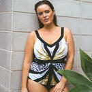 [Curvy Swimwear Butterfly Tankini Top - $99.00]