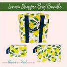 [Bundle and Save - Shopper Bag Set in Lemons - $33.30]