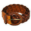 [Society Belt in Black and Tan - $24.95]